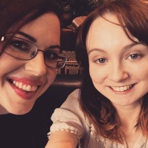 Natasha and me